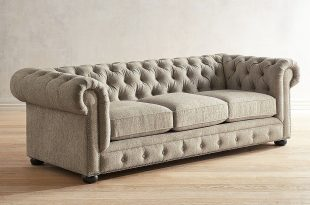 Southerlyn Oatmeal Chesterfield Sofa | Pier 1
