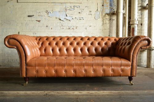 Wood Chesterfield Sofa Genuine Leather 3 Chesterfield Sofa Design