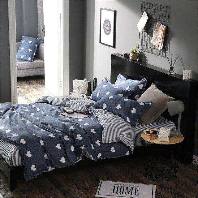 Home Textile Star Cartoon Bear 3/4pcs Bedding Sets Children's