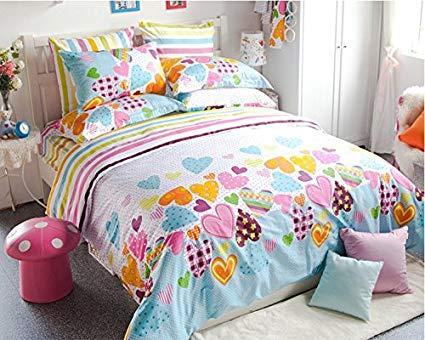 Amazon.com: LELVA Sweetheart Princess Cartoon Bedding Sets