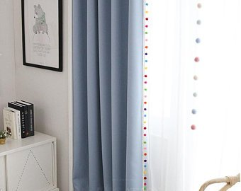 Kids blackout curtains | Etsy