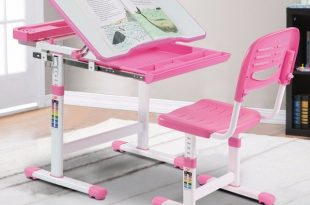 Giantex Height Adjustable Children's Desk Chair Set Multifunctional