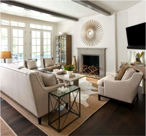 How to Choose the Correct Area Rug for your Space   CHD Interiors