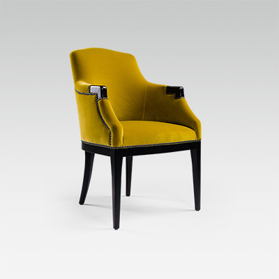Classic chair for restaurant, hotel & bar | Collinet
