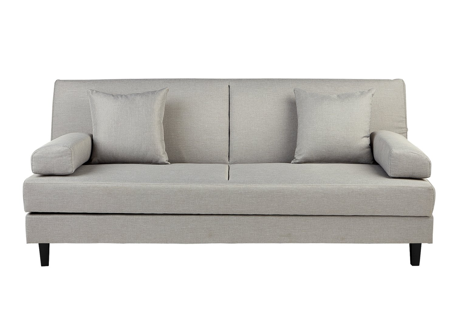 Buy Argos Home Chase Fabric Clic Clac Sofa Bed - Light Grey | Sofa