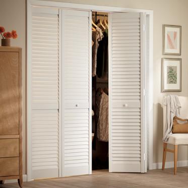 Few closet door ideas