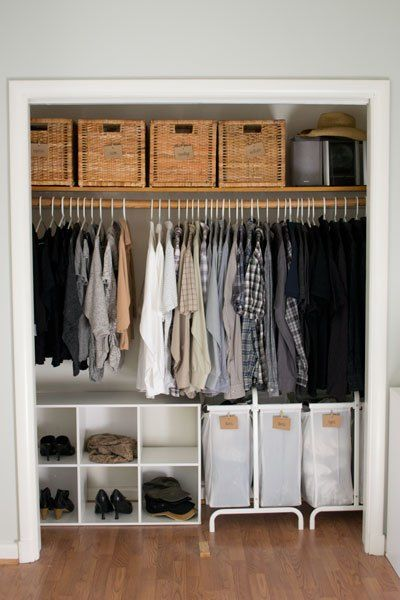 16 Brilliant Ways to Squeeze (Much) More Into Your Closet | Home