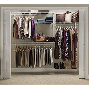 Amazon.com: ClosetMaid 22875 ShelfTrack 5ft. to 8ft. Adjustable