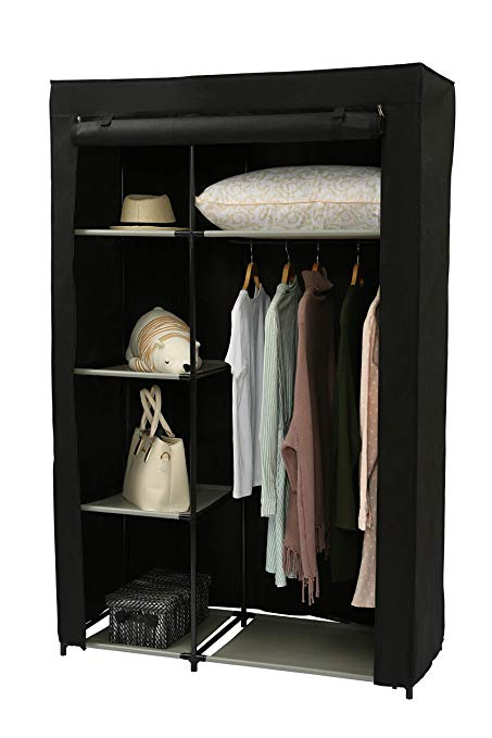 Amazon.com: Homebi Clothes Closet Portable Wardrobe Durable Clothes