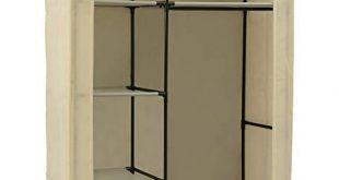 Amazon.com: MULSH Closet Wardrobe Portable Clothes Storage Organizer