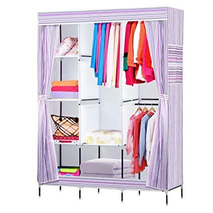 Amazon.com: NEX Wardrobe DIY Clothes Storage Cabinet Portable Tool