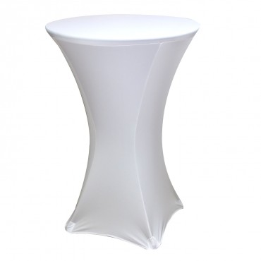 Spandex Fitted Stretch Table Cover for 24'' Cocktail Table