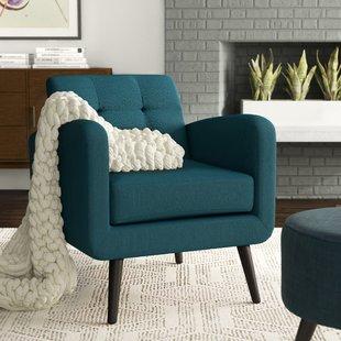 Comfy Overstuffed Armchairs | Wayfair
