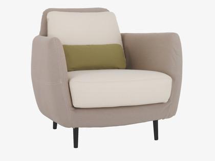 Chic and comfy Ella armchair