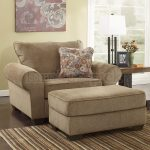 Creating a relaxing   environment courtesy of the comfy chair with ottoman