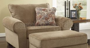 My Comfy Reading Chair Ottoman Galand Umber From Ashley