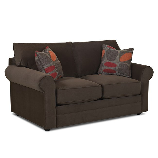 Comfy Loveseat (Attire Hardwood) Klaussner | Furniture Cart
