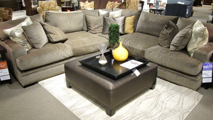 Extensive Fontaine Sectional Sofa So Comfy With 27quot Deep