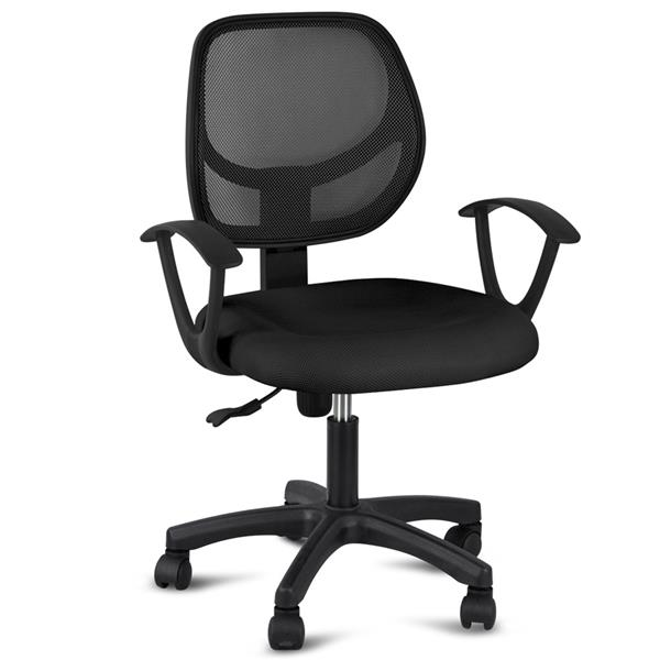 Yaheetech Adjustable Swivel Computer Desk Chair Fabric Mesh Office