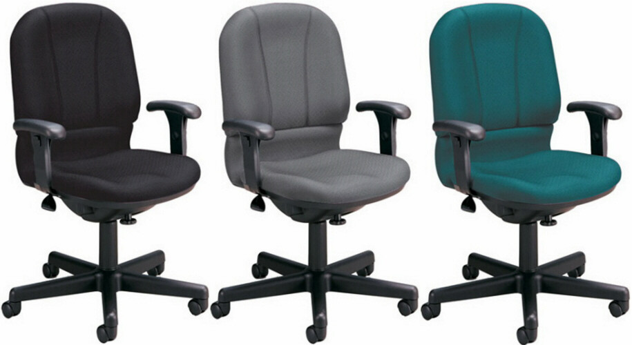 OFM Office Computer Chair with Contoured Back and Seat [640]