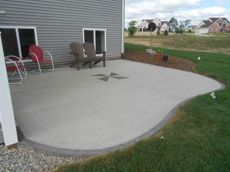 Patio: Great concrete patio ideas Concrete Patio Ideas For Small