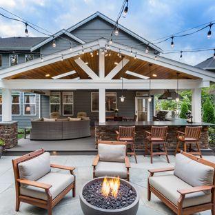 75 Most Popular Concrete Patio Design Ideas for 2019 - Stylish
