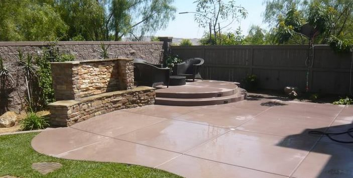 Give yourself a new outlook   for your patios and consider different concrete patio ideas to work on them