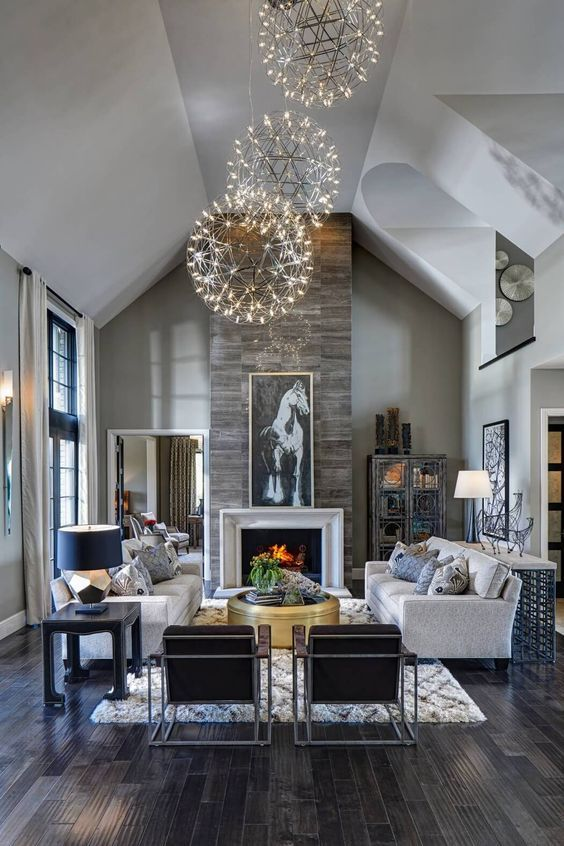 10 Contemporary Living Room Ideas That Will Delight You | Great room