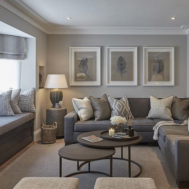 CONTEMPORARY LIVING ROOM | Grey Living Room | bocadolobo.com