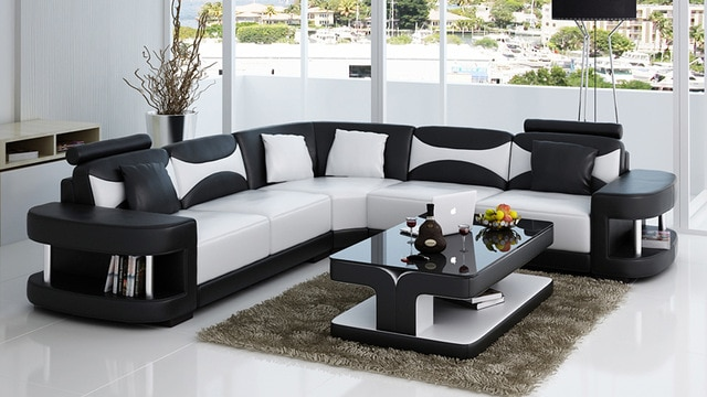 True Leather Sofa Set for Modern Living Room -in Living Room Sets