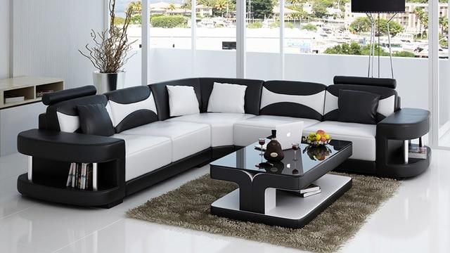 True Leather Sofa Set for Modern Living Room -in Living Room Sets