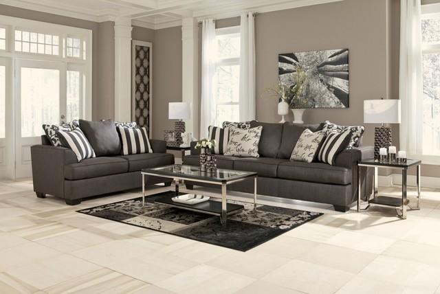 Levon 2 Piece Living Room Set - Contemporary - Living Room - New