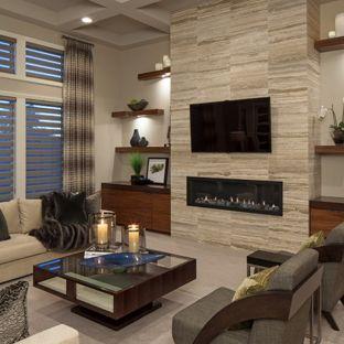 How to design a contemporary   living room?
