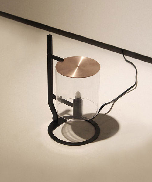 seungyeon shim adapts a korean traditional oil lamp for the