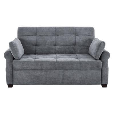Serta Honor Convertible Sofa Gray : Target