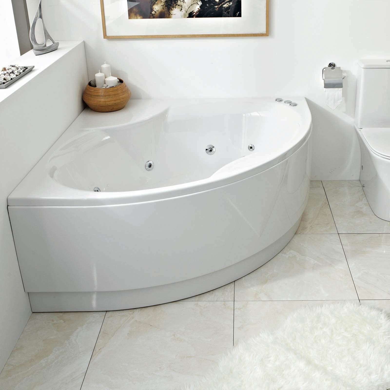 Corner Tubs For Small Bathrooms - Visual Hunt