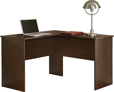 Easy2Go Corner Computer Desk, Resort Cherry | Staples