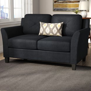 Corner loveseat to use the   dead space