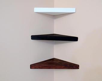 Corner shelf | Etsy