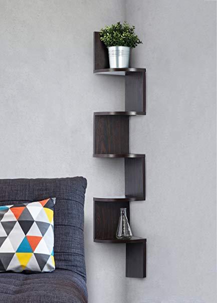 Pros a corner shelf