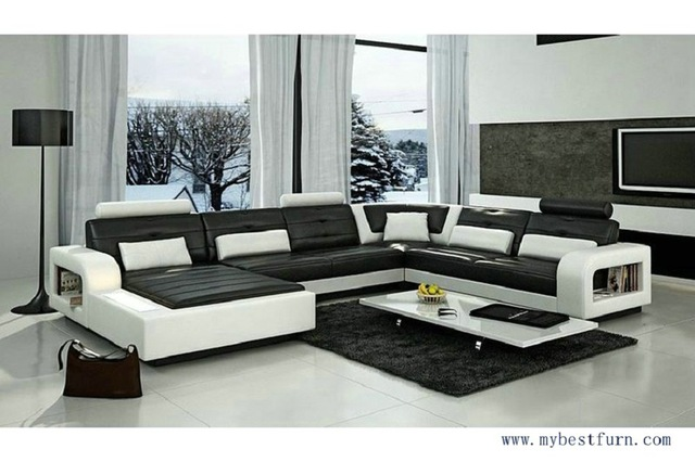 Free Shipping Modern Design, elegant couch luxury style sofa set