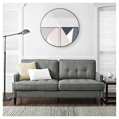 Rosalie Mid Century Modern Sofa Gray - Dorel Living : Target