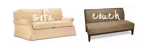 Contemporary Couch V Sofa What The Difference Between A And Quora