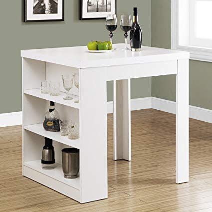 Amazon.com - Monarch Hollow-Core Counter Height Table, 32 by 36-Inch