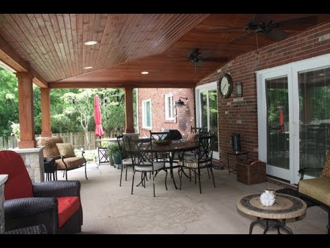 Covered Patio Ideas~Covered Patio Ideas And Pictures - YouTube