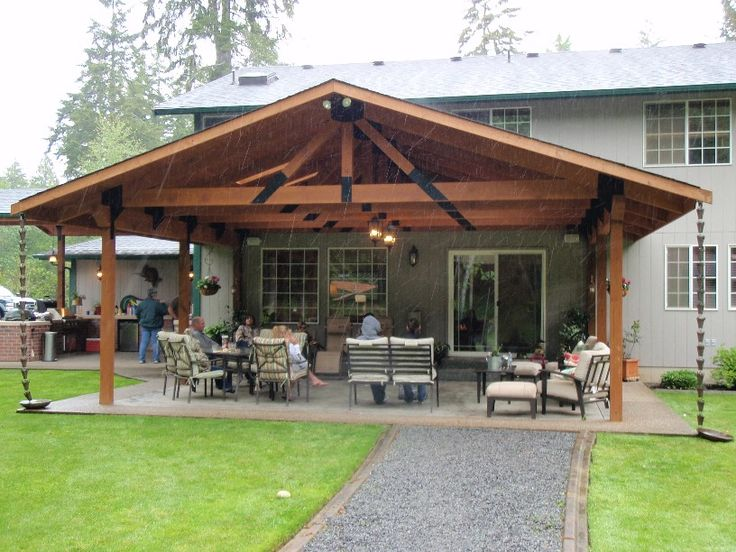 23 Amazing Covered Deck Ideas To Inspire You, Check It Out! | House