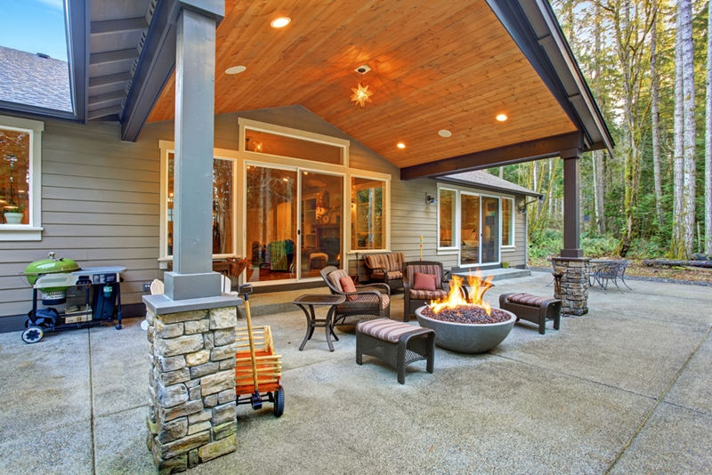 How to Maintain Concrete Patios