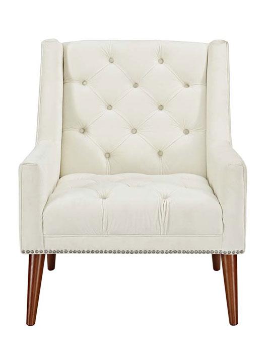 Tilly Velvet Sofa Armchair   Modern Furniture u2022 Brickell Collection