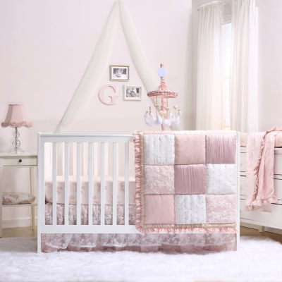The Peanut Shell Grace 4-pc. Crib Bedding Set - JCPenney