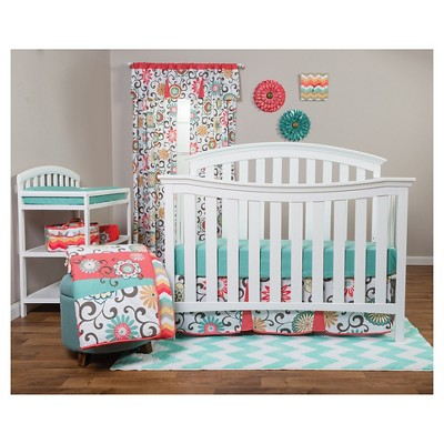 Waverly Baby By Trend Lab 3pc Crib Bedding Set u2013 Pom Pom Play : Target